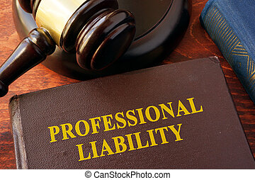 Book with title professional liability