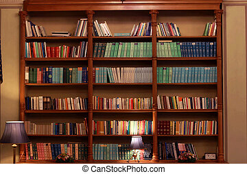 Bookshelf Stock Photos And Images Bookshelf Pictures And - Old book case