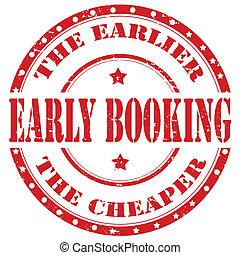 booking-stamp, temprano