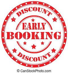booking-stamp, tidigt