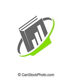 Bookkeeping Accounting Document logo design template...