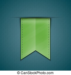 Bookmark decoration ribbon