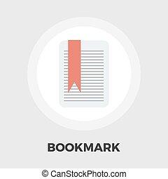 Bookmark flat icon