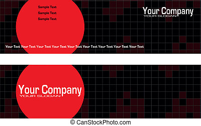 Bookmarks advertising ready for printing
