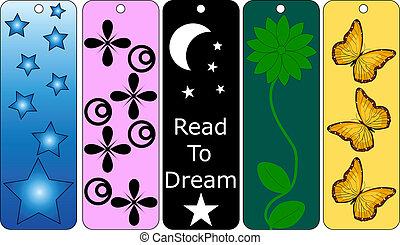 bookmarks, ensemble, 5