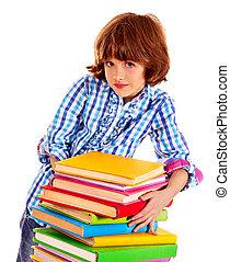 books., לגוז, ילד