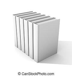Books - 3D Illustration.