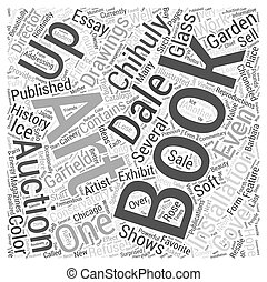 books about dale chihuly Word Cloud Concept