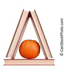 Books and Orange
