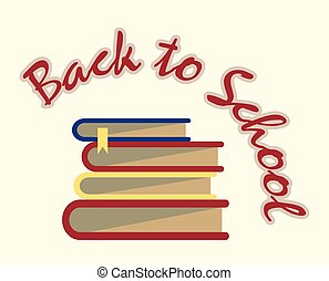 books back to school sign