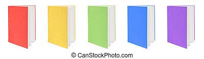 books., cinque, colorito