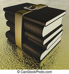 books - digital visualization of books