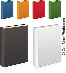 Books - Set of colorful vector books