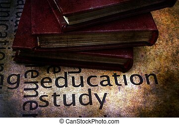 Books on education and study text