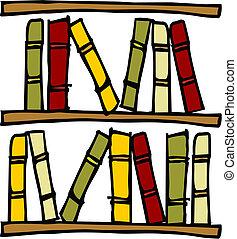 books., planken