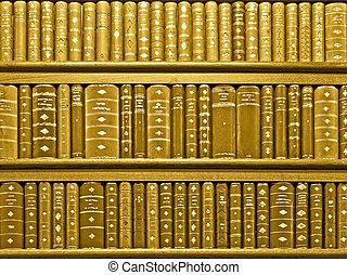 Books sepia