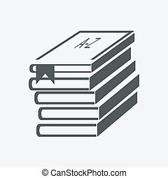 (books, stacked), boekjes , stapel