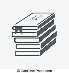 (books, stacked), libri, pila