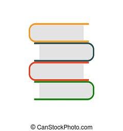 Books vector icon