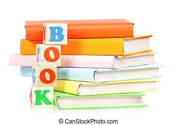 Books with blocks