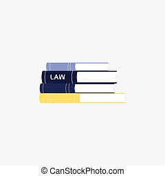 Books with compliance rules, regulations, legal laws and agreements.
