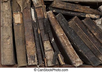 bookstand, in, antikes geschäft