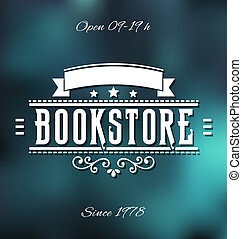 Bookstore Label