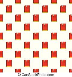 Bookstore pattern seamless