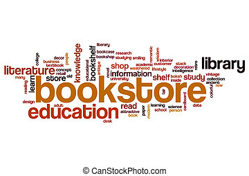 Bookstore word cloud