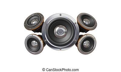 Boom-boom - Loudspeakers
