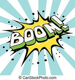 Bulle comique parole cool dessin anim 10 - Boom dessin anime ...