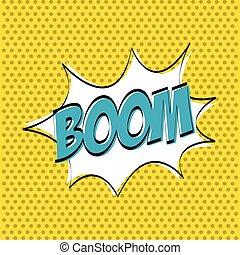 boom explosion design