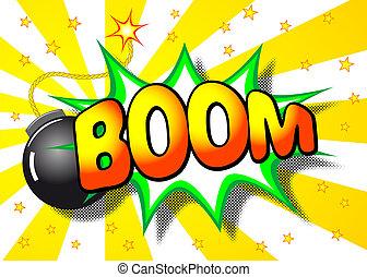 boom explosion