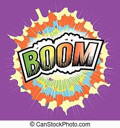 BOOM! Wording Sound Effect