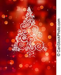 boompje, eps, illustratie, red., 8, kerstmis