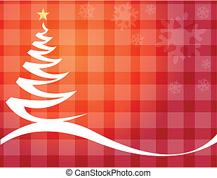 boompje, kerstmis, achtergrond