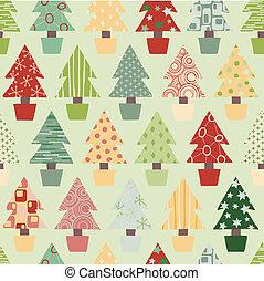 boompje, kerstmis, achtergrond, feestelijk