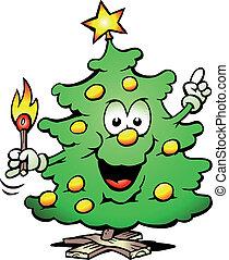 boompje, kerstmis, lucifer