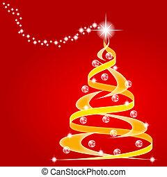 boompje, kerstmis, sterretjes