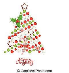 boompje, kerstmis, versuikeren
