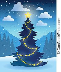 boompje, thema, 5, kerstmis