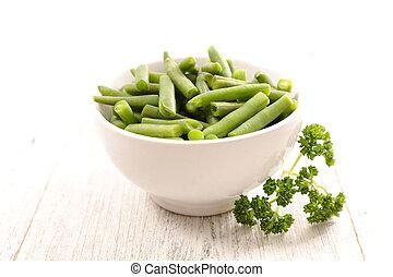 boon, groene