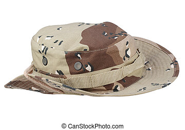 boonie hat isolated on white background