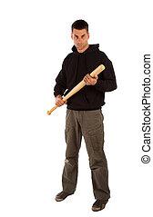boos, honkbal slaghout, man