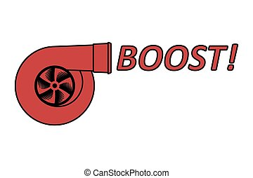 Boost logo with text