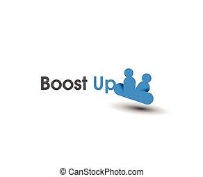 Boost Up Logo