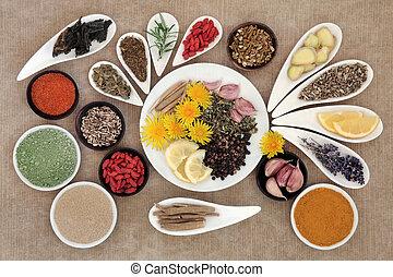 boosting, alimentos, inmune
