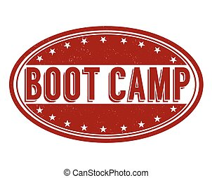 Boot camp stamp