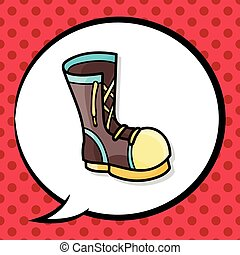 boot doodle