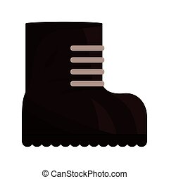 boot icon. Armed forces. vector graphic - Armed forces...